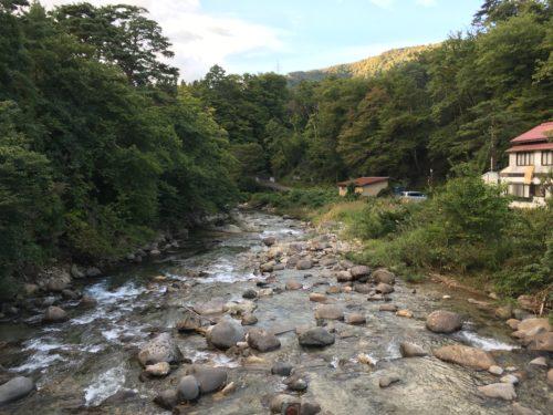 鷹の湯渓流