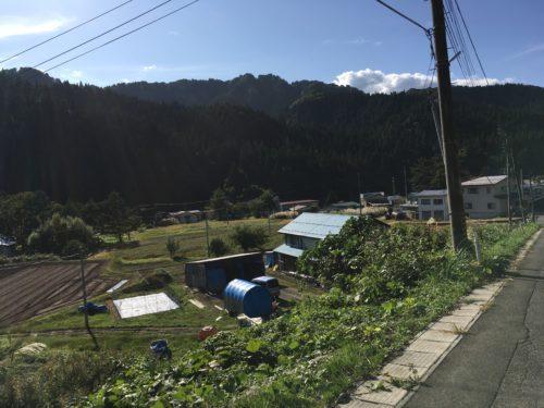 秋田県湯沢市秋ノ宮の風景