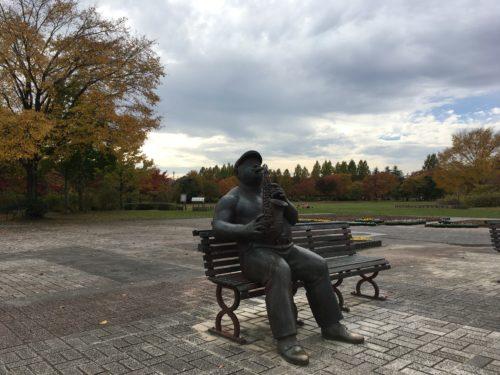 七北田公園銅像