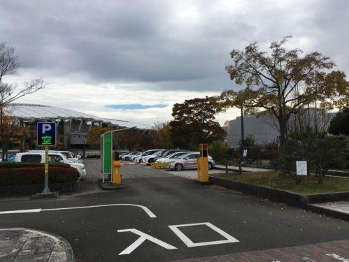 七北田公園駐車場