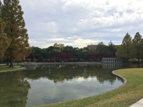 七北田公園池