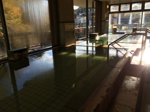 土湯温泉福うさぎ大浴場