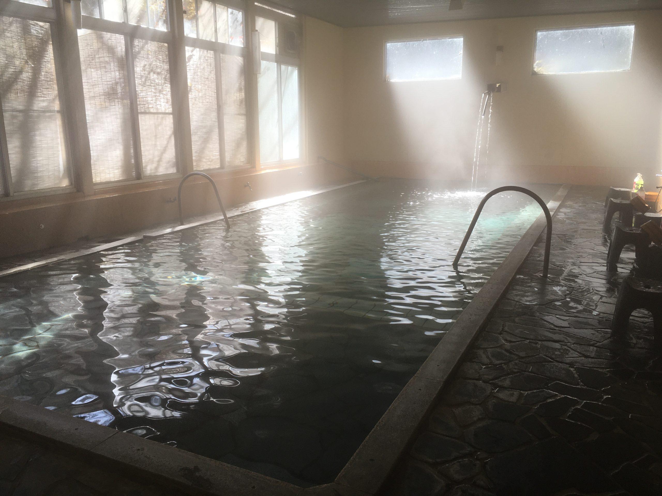 奥土湯川上温泉万人風呂