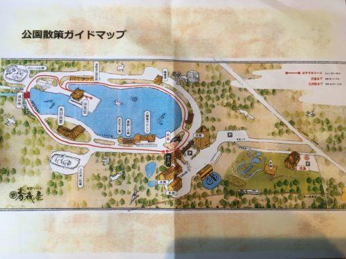 星野リゾート青森屋散策MAP