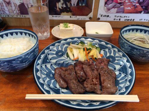 すいすい牛タン定食
