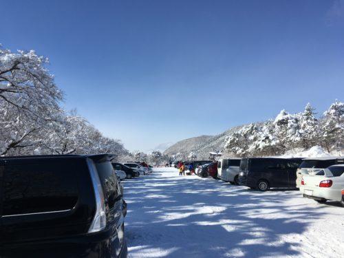 泉ヶ岳大駐車場