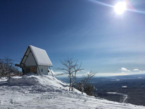 泉ヶ岳スキー場山頂