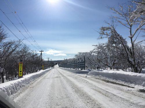 泉ヶ岳スキー場へのアクセス