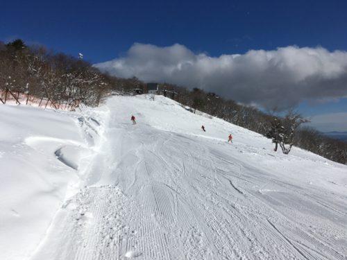 泉ヶ岳スキー場山頂近辺