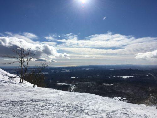 泉ヶ岳スキー場眺望
